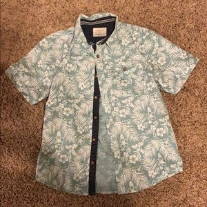 Boys Hawaiian button down shirt